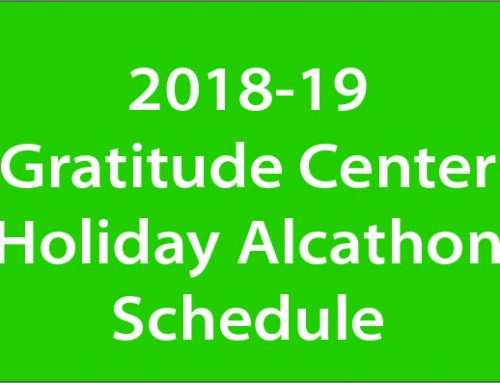 2018 Christmas – New Year's Alcathon Schedule