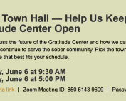 Town Hall 6-6-2020