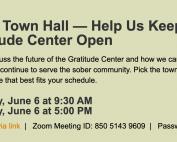 Town Hall 6-6-2020